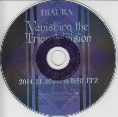 画像1: [USED]DIAURA/Vanishing the Triangle vision 2014.11.30赤坂BLITZ LIVE DVDダイジェスト版(DVD)