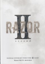 [USED]RAZOR/2nd ANNIVERSARY ONEMAN TOUR II-second-(DVD/通常盤)