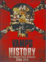 [USED]VAMPS/HISTORY-The Complete Video Collection 2008-2014(初回限定盤A/Blu-ray)
